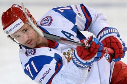Хет-трик Ковальчука помог России обыграть Германию на ЧМ по хоккею