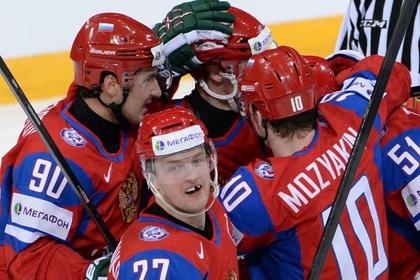 Россия обыграла США на чемпионате мира по хоккею