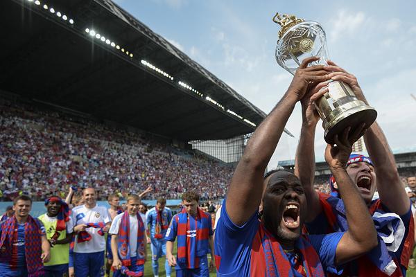 ЦСКА в четвертый раз стал чемпионом России по футболу
