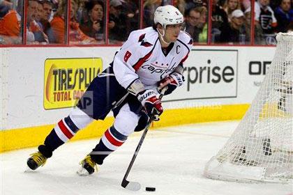 Овечкин забросил шайбу в матче плей-офф НХЛ