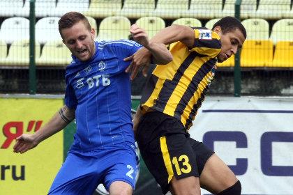 Московское «Динамо» проиграло аутсайдеру футбольной премьер-лиги