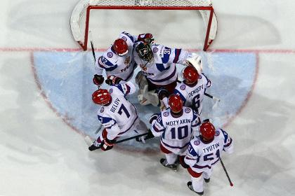 Российские хоккеисты узнали соперников по ЧМ-2014