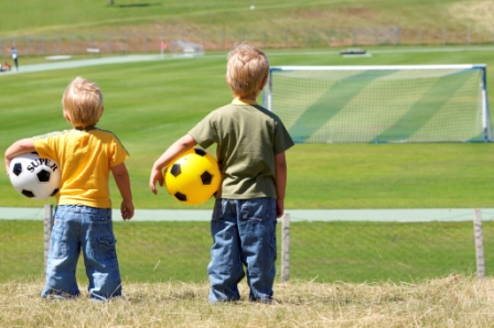 Детский футбол – за дружбу