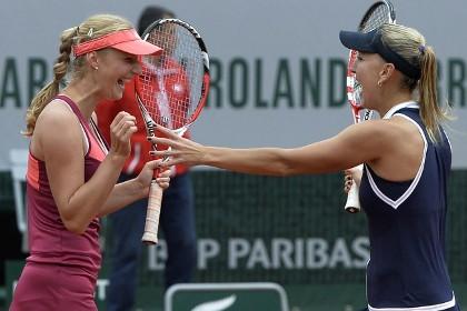 Российские теннисистки выиграли «Ролан Гаррос» в парном разряде