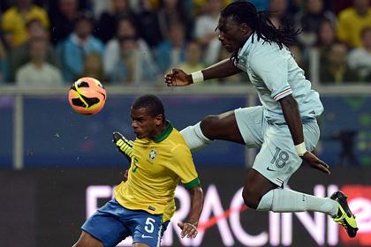 Бразильские футболисты впервые за 20 лет обыграли французов