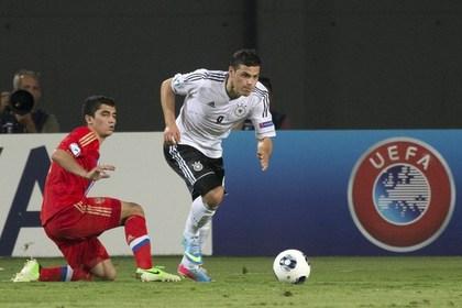 Россия потерпела третье подряд поражение на молодежном ЧЕ по футболу