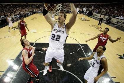 «Сан-Антонио» вышел вперед в финальной серии плей-офф НБА