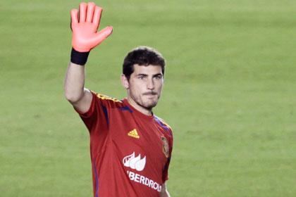 Касильяс назвал дату ухода из сборной Испании