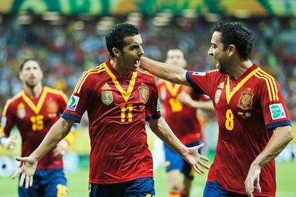 Испанцы стартовали на Кубке конфедераций с победы