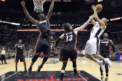 «Сан-Антонио» оказался в шаге от победы в чемпионате НБА