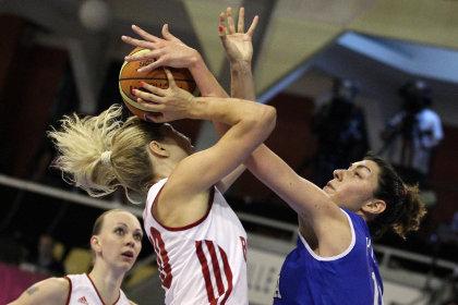 Российские баскетболистки обыграли итальянок в матче ЧЕ