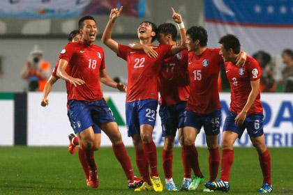 Сборные Южной Кореи и Ирана вышли на ЧМ-2014