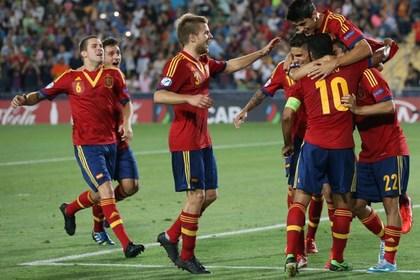 Молодежный чемпионат Европы по футболу выиграла сборная Испании