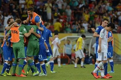 Италия и Бразилия вышли в полуфинал Кубка конфедераций