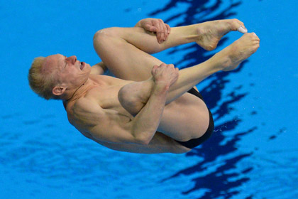 Россияне взяли золото и серебро на чемпионате Европы по прыжкам в воду