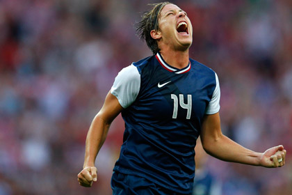 Лучшая футболистка мира побила рекорд по забитым голам