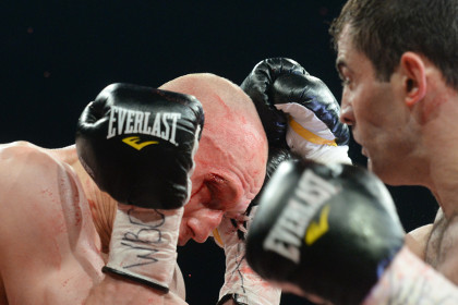 Российский боксер Чахкиев не сумел завоевать титул чемпиона мира