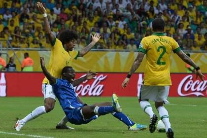 Бразилия обыграла Италию в матче Кубка конфедераций