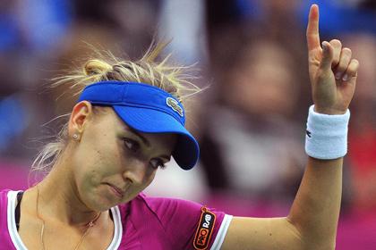 Россиянка поднялась на 14 позиций в теннисном рейтинге