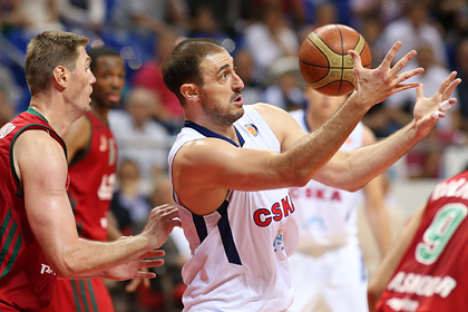 Баскетболисты ЦСКА сыграют с командой Кириленко
