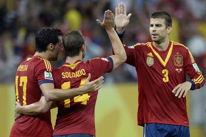 Футболистов сборной Испании обокрали на Кубке конфедераций