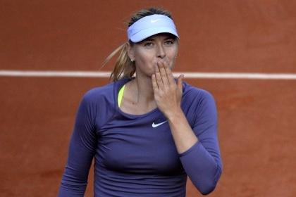 Шарапова вышла в четвертьфинал «Ролан Гаррос»
