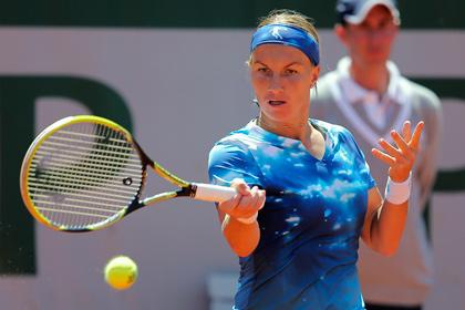 Светлана Кузнецова проиграла Серене Уильямс на «Ролан Гаррос»