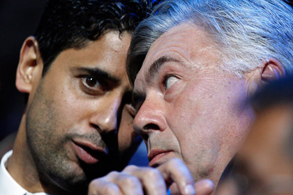 ПСЖ отказался отпустить тренера в «Реал»