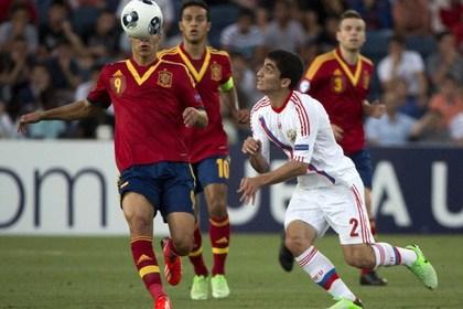 Россия проиграла стартовый матч на молодежном ЧЕ по футболу