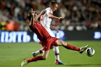 Португальцы обыграли россиян в отборочном матче ЧМ-2014