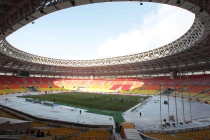 На стадионе «Лужники» построят новые трибуны