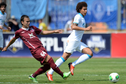 «Рубин» вырвал победу в матче с «Зенитом»