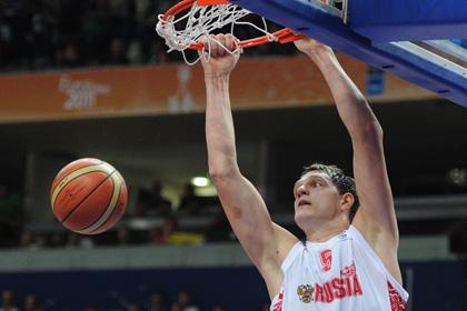 Тимофей Мозгов отказался играть за сборную России на Евробаскете