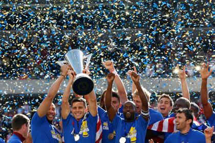 Сборная США по футболу выиграла Gold Cup