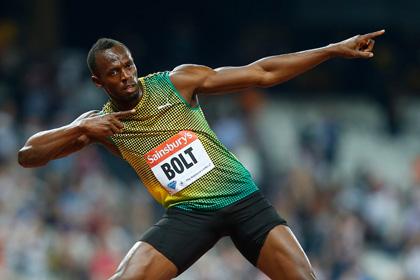 Болт включен в состав сборной Ямайки на московский ЧМ по легкой атлетике