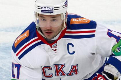 Ковальчук заключил контракт с питерским СКА