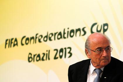 Президент ФИФА пожалел о проведении ЧМ в Бразилии