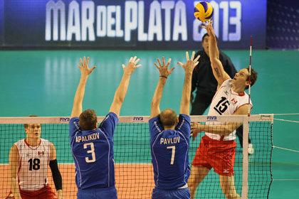 Сборная России по волейболу вышла в полуфинал Мировой лиги