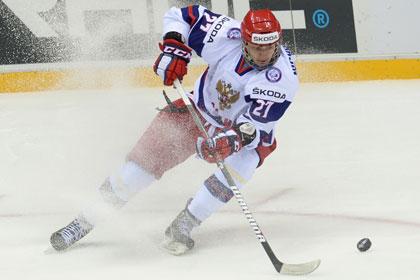 Российского хоккеиста выбрали в первом раунде драфта НХЛ