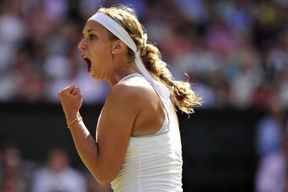 Второй финалисткой Уимблдона стала немецкая теннисистка