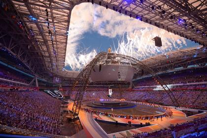 В Казани началась церемония открытия Универсиады