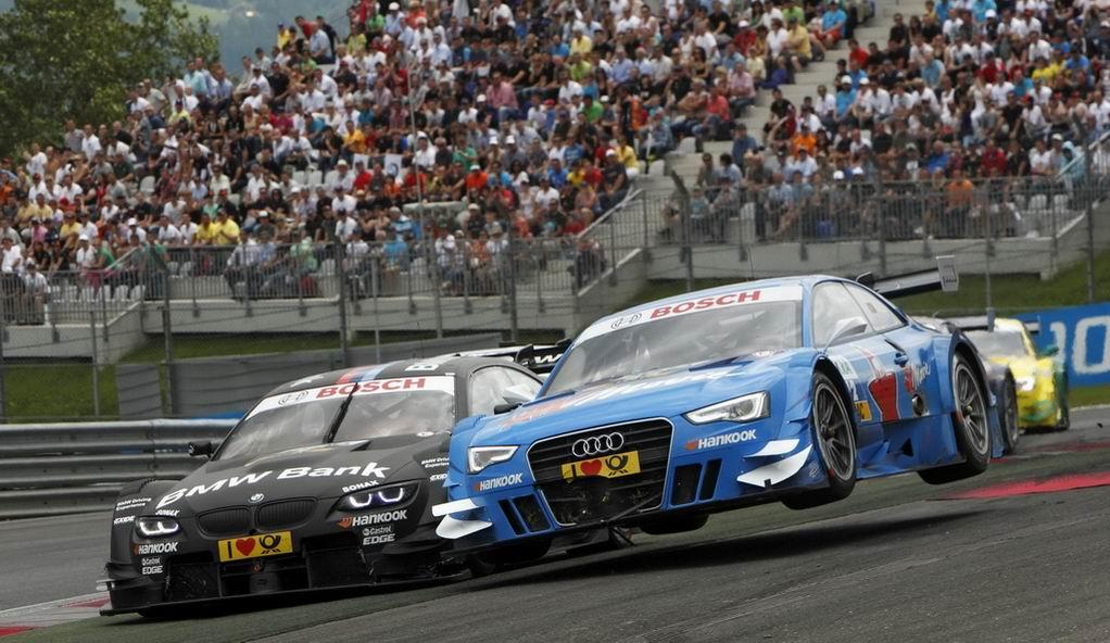 Первый в России этап автогонки DTM
