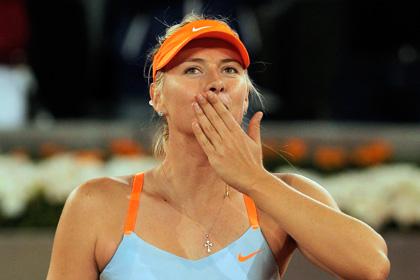 Шарапову в девятый раз подряд признали самой высокооплачиваемой спортсменкой в мире