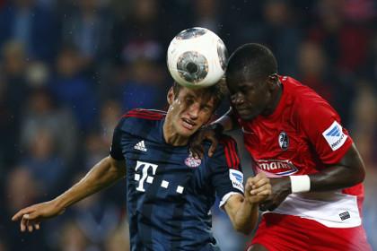 «Бавария» прервала свою победную серию в бундеслиге