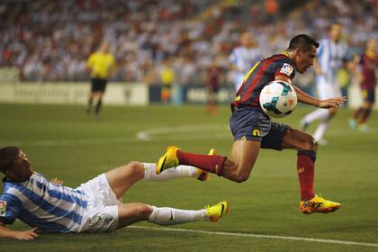 «Барселона» обыграла «Малагу» в чемпионате Испании