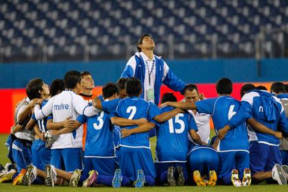 Футболисты сборной Сальвадора дисквалифицированы за договорные матчи