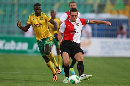 «Кубань» обыграла «Фейенорд» в матче Лиги Европы