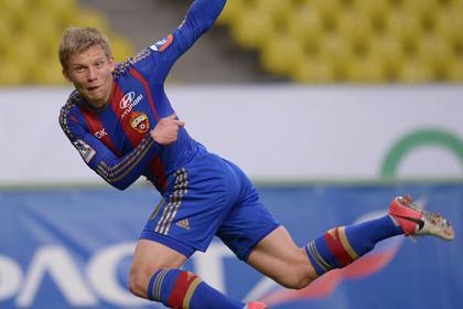 Футболист ЦСКА провел два матча с переломом