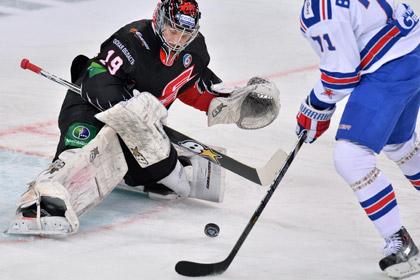 СКА забросил пять шайб в первом матче Ковальчука