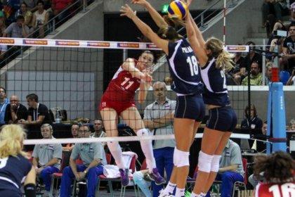 Россиянки обыграли хорваток на чемпионате Европы по волейболу